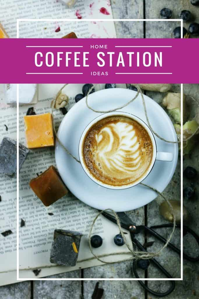 Home Coffee Station Ideas | Pictures | Coffee Bar | Storage | Organization | Homemaking