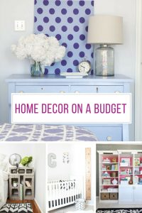 So many great home decor on a budget ideas - I'm off to the flea market!