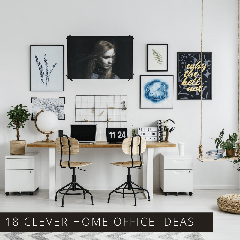 Make working from home easier with these clever home office ideas