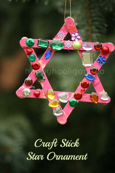 Lollipop Stick Christmas Decorations.Popsicle Stick Ornaments