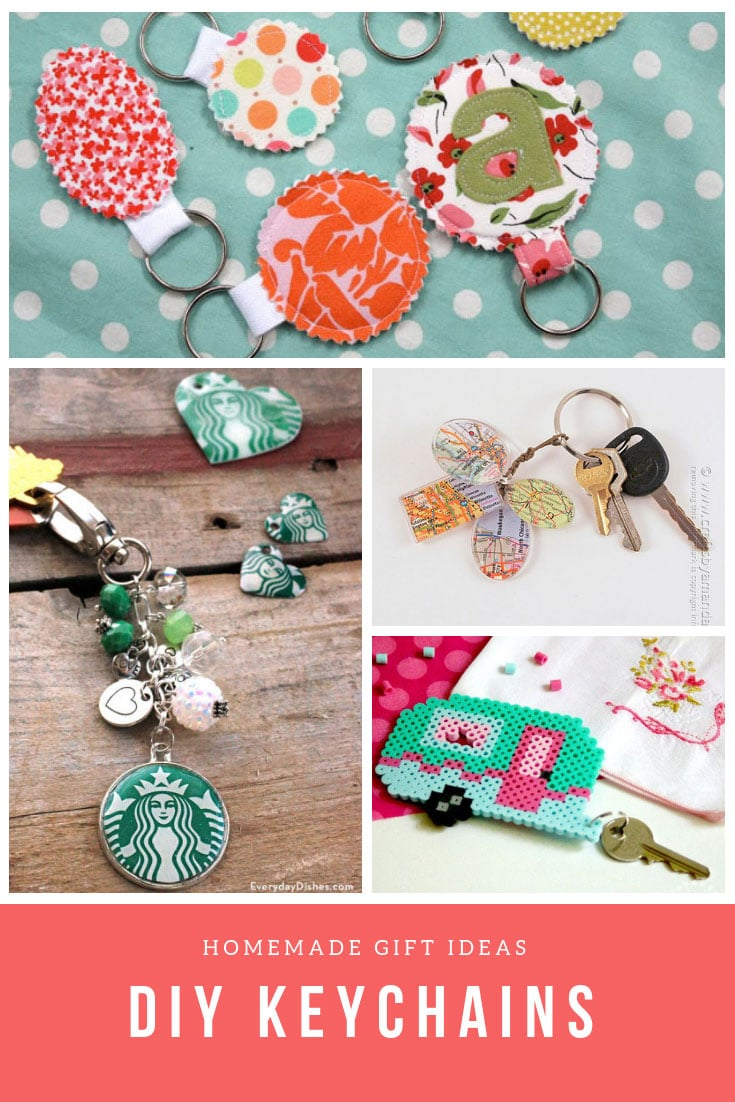 Homemade DIY Keychain Ideas