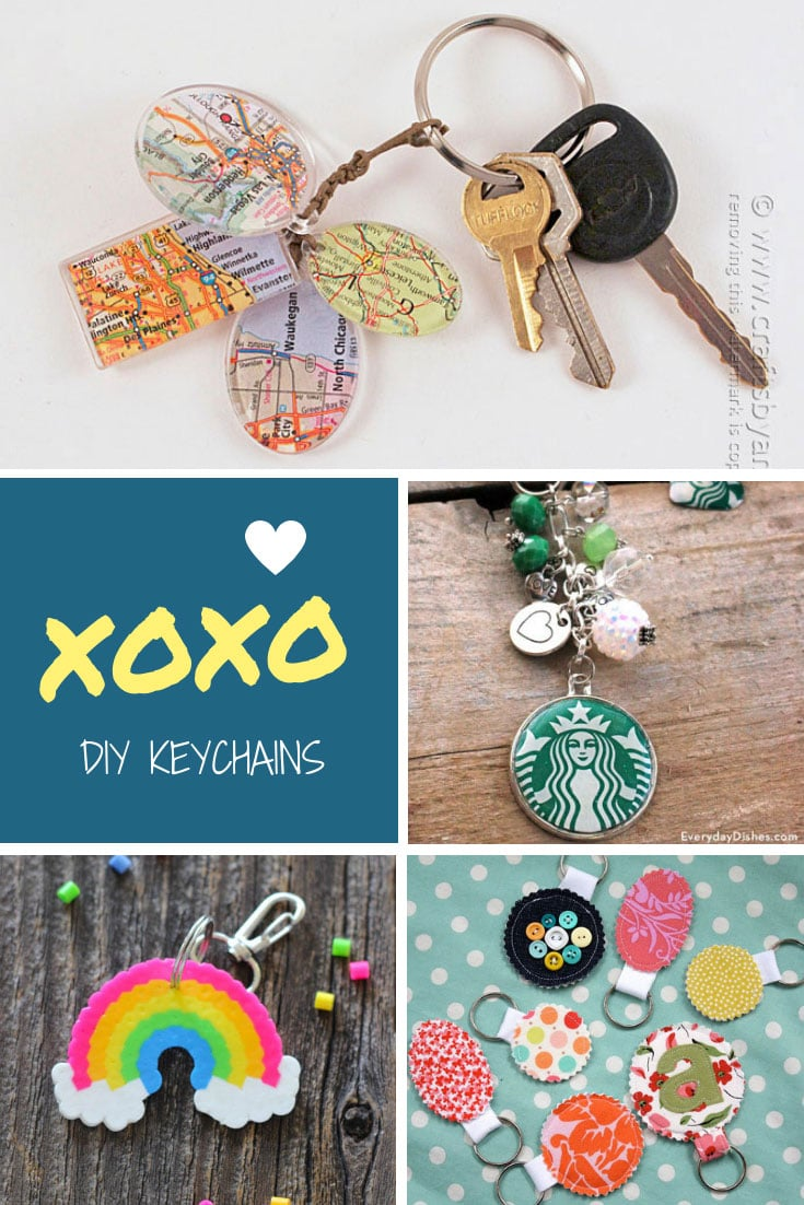 DIY Keychain Ideas  Homemade projects make wonderful gifts!  1782eb6db97c