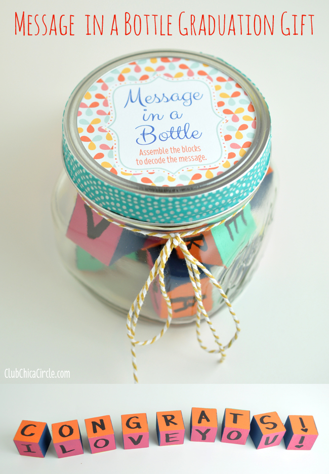 Message in a Bottle Congratulations  Gift