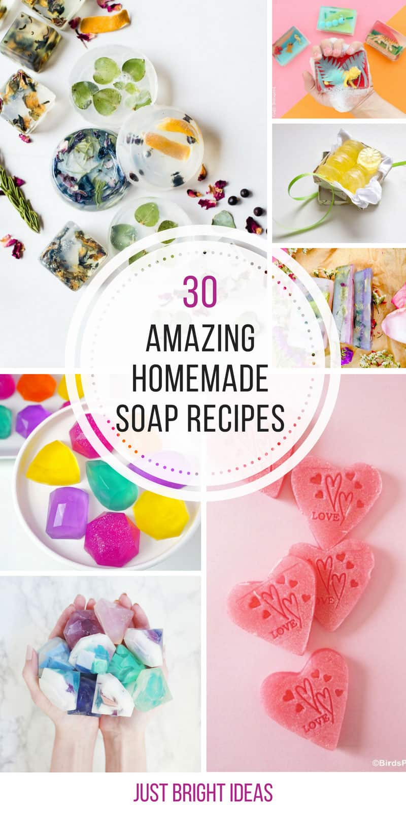 These homemade soap recipes are so easy to make! Thanks for sharing!