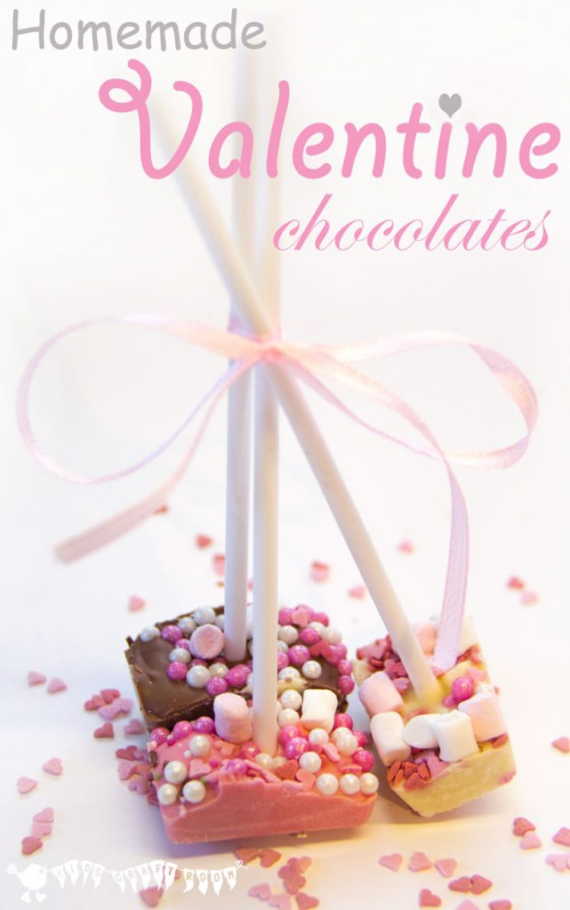 My daughter LOVES sprinkles and mini marshmallows so we HAVE to make these for Valentine