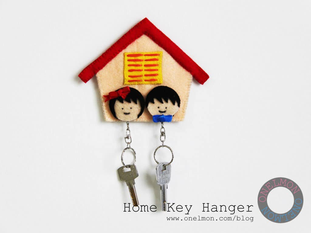 Honey I'm Home Key Hanger