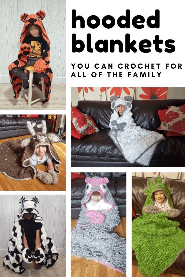 Loving these hooded crochet blanket patterns! They're bound to become your favourites too!