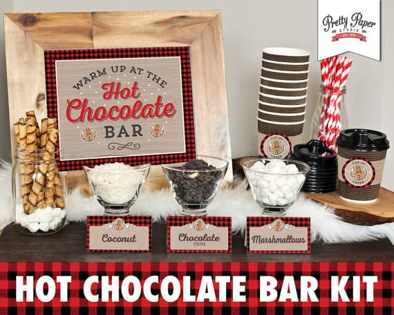 Hot Cocoa Bar Printable Kit