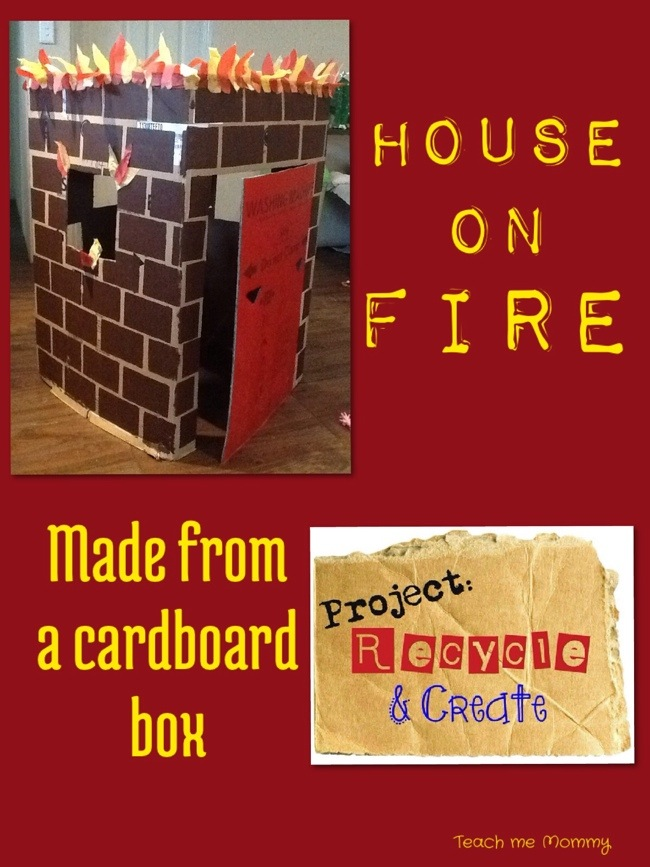 House on Fire Dramtic Play
