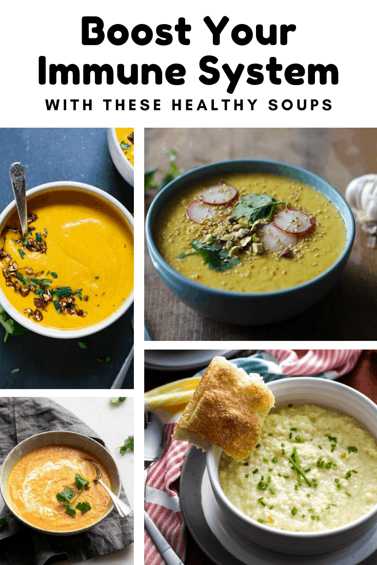 Find our how to boost your immune system with these healthy soup recipes