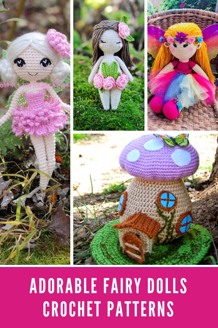 Crochet Fairy Patterns {Magical dolls little girls will adore ... | 1102x735