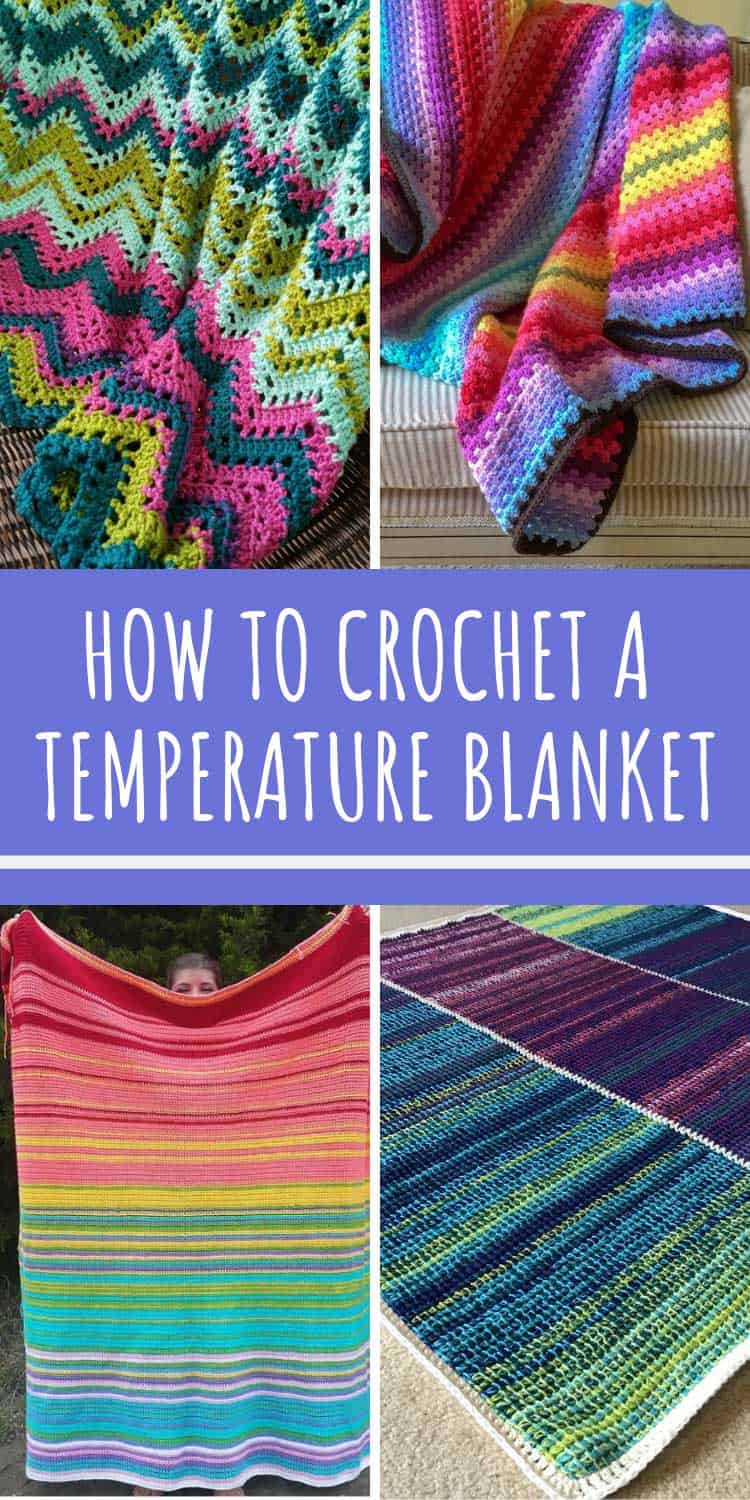How to Crochet a Temperature Blanket