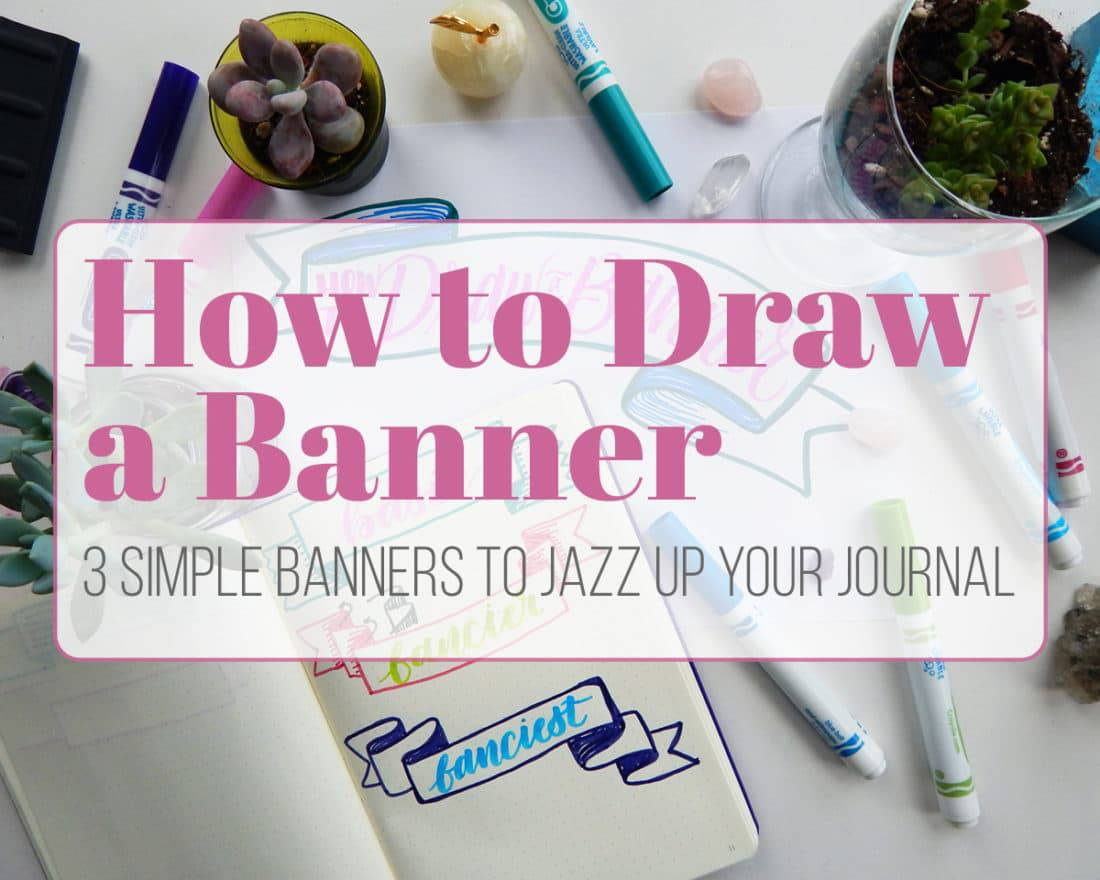 Bullet Journal Banner Video
