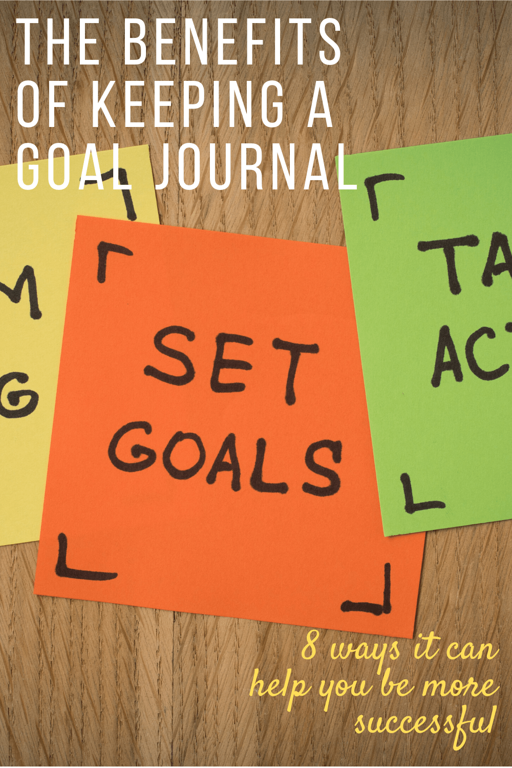 Find out why you need a goal journal in your life if you want to hustle and get that goal achieved