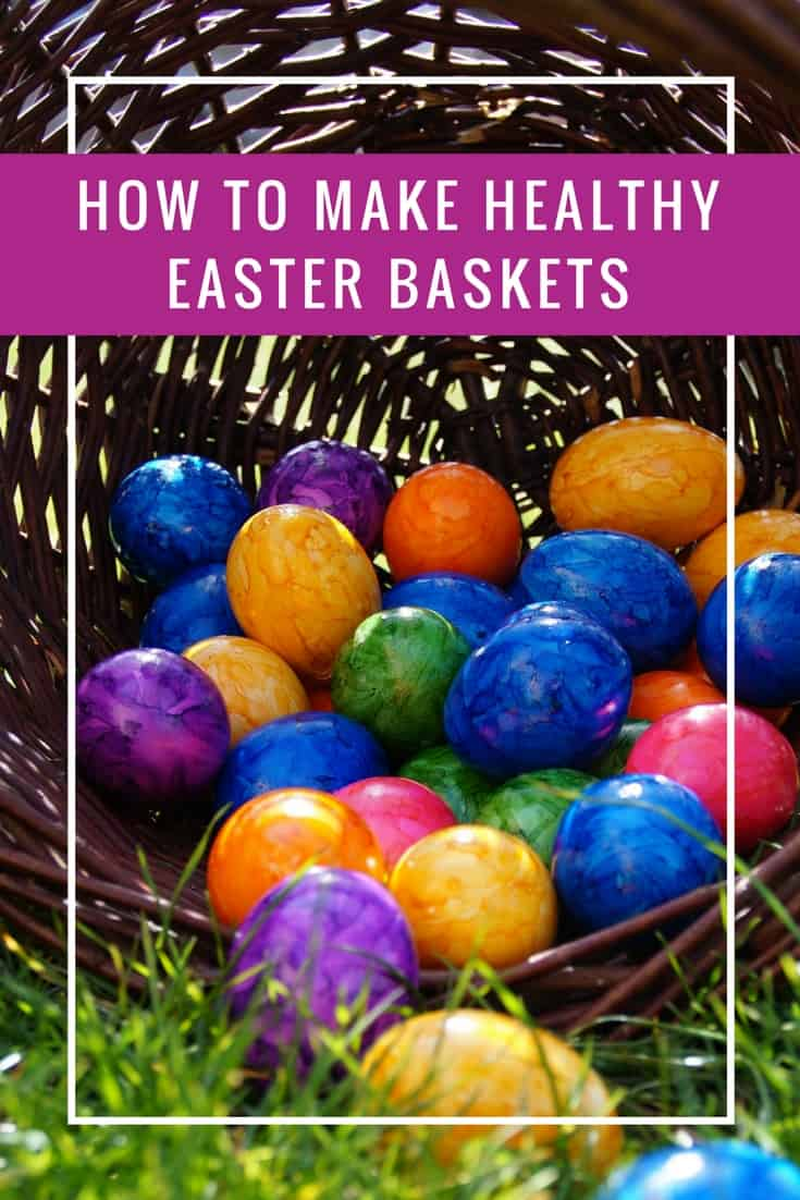 The amount of sugar the kids get is CRAZY which is why these Healthy Easter baskets are a much better idea!