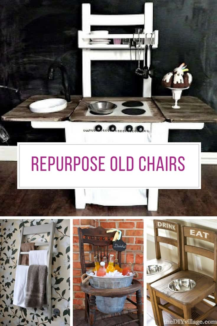 Who knew there were so many fabulous things to make with an old wooden chair! Thanks for sharing!