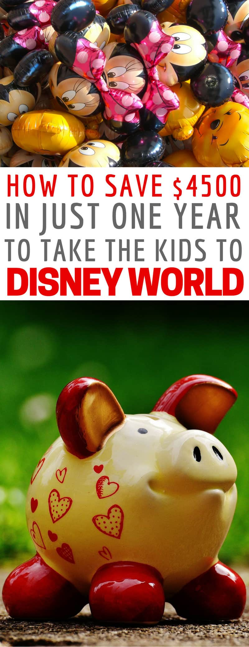 Now I can see how easy it is to save money for Disney World we can take the kids! Thanks for sharing!
