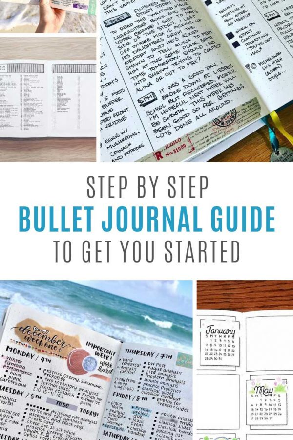 Neat! A simple how to set up a bullet journal guide that makes sense!