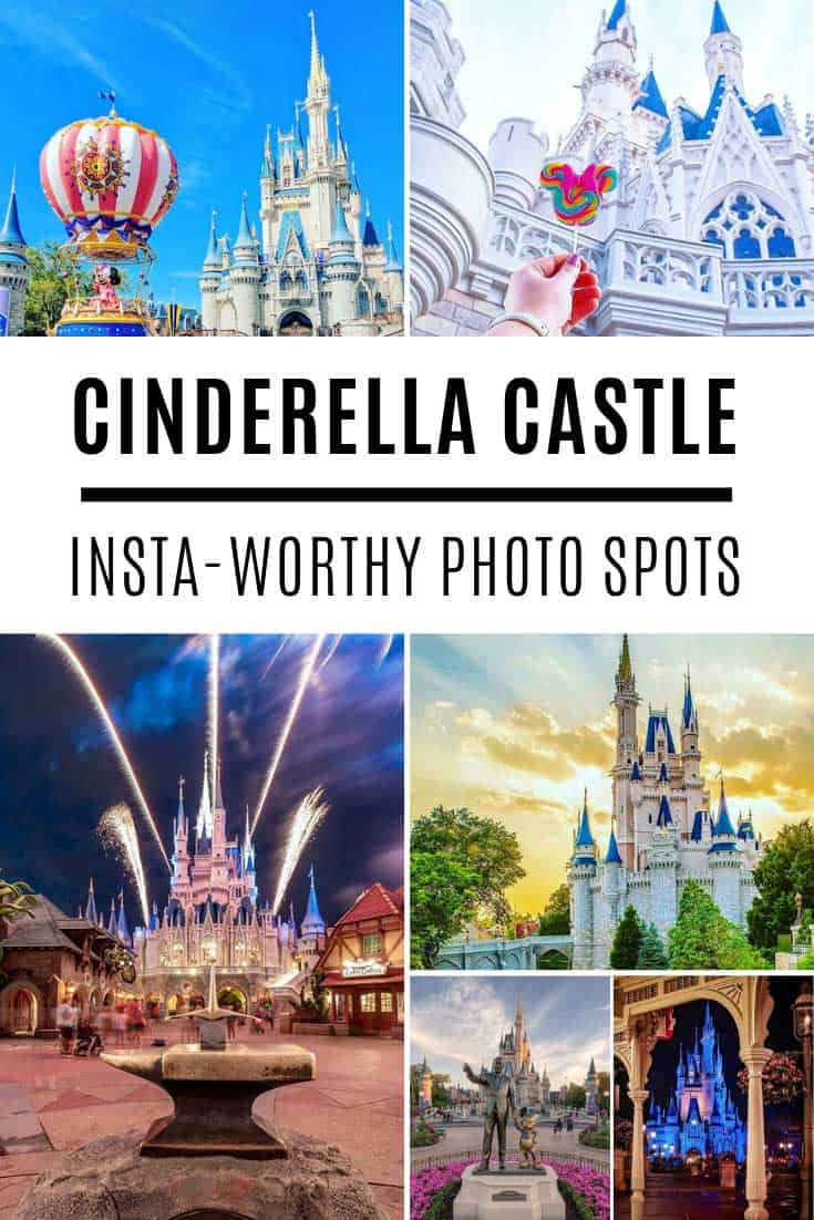 How to take insta-worth photos of Cinderella Castle at the Magic Kingdom!