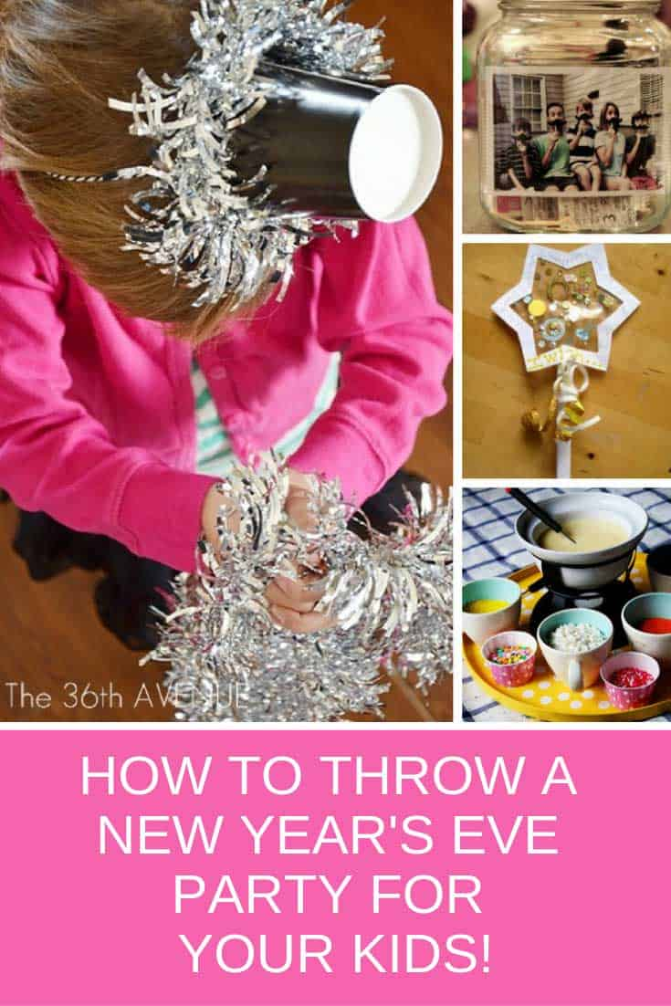 Loving these ideas for throwing a New Years Eve party for the kids!