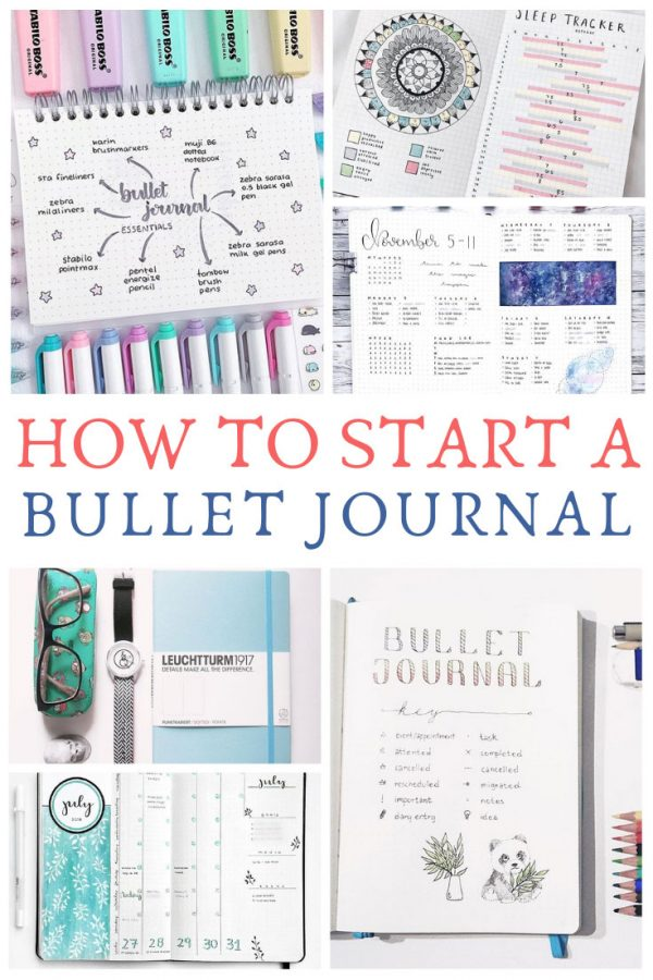 Wondering how to bullet journal? Check out this guide which will walk you through the set up step-by-step!