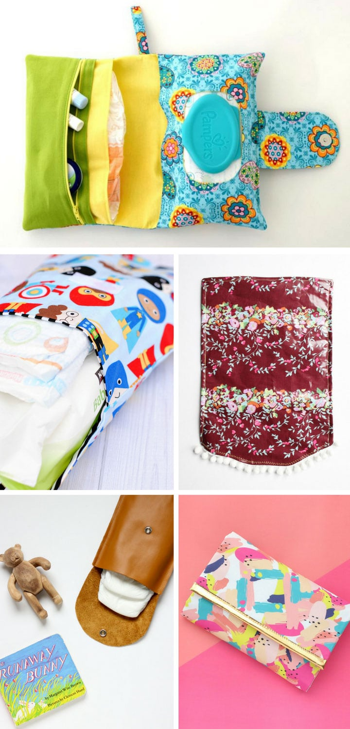 How to make a diaper clutch tutorial