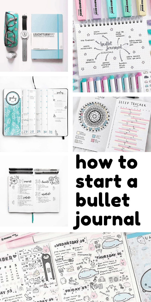 The new year is in sight - it's the perfect time to find out how to start a bullet journal!