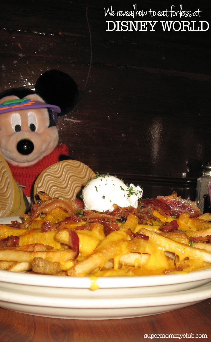 Some great tips here for saving money on food at Disney World