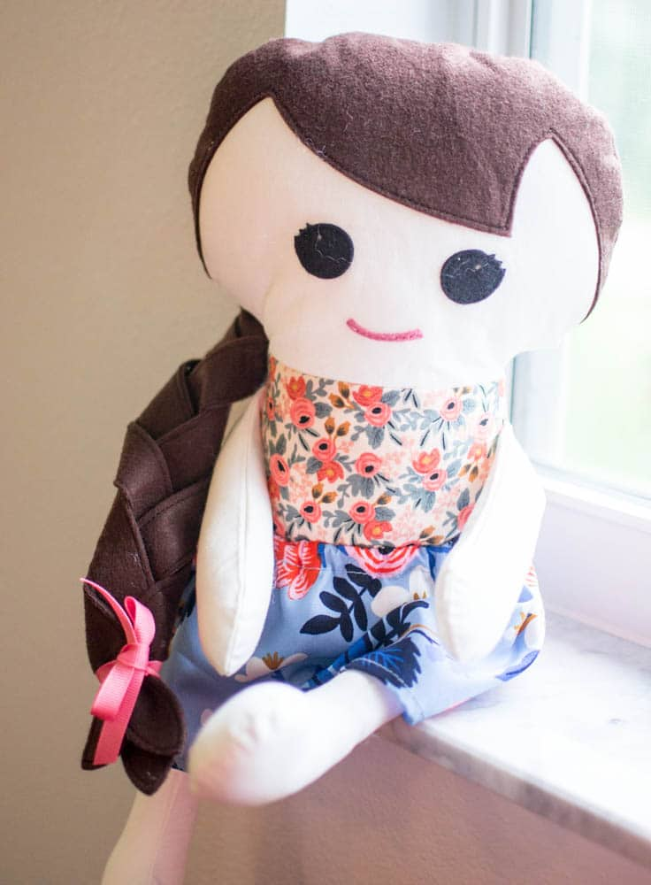 How to Sew a Doll Skirt