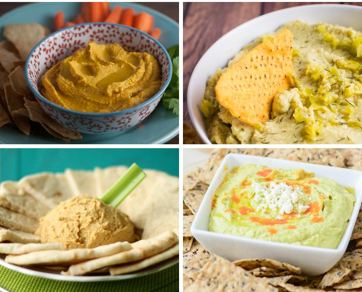 Easy to make homemade hummus recipes