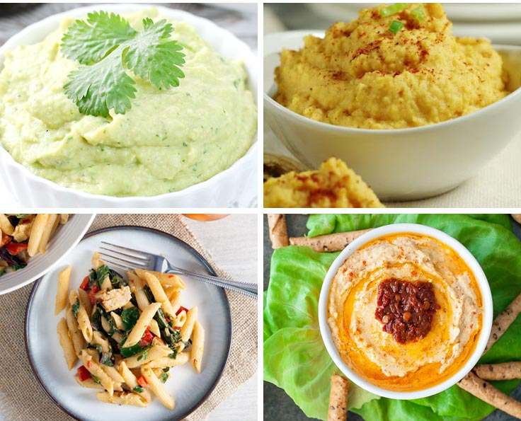 Perfect for a party homemade hummus recipes