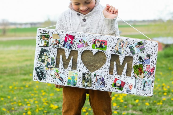 Mother's Day String Art – Photo gift