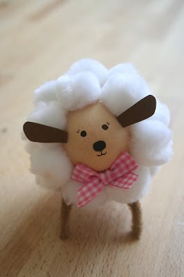 Pompom Sheep Egg