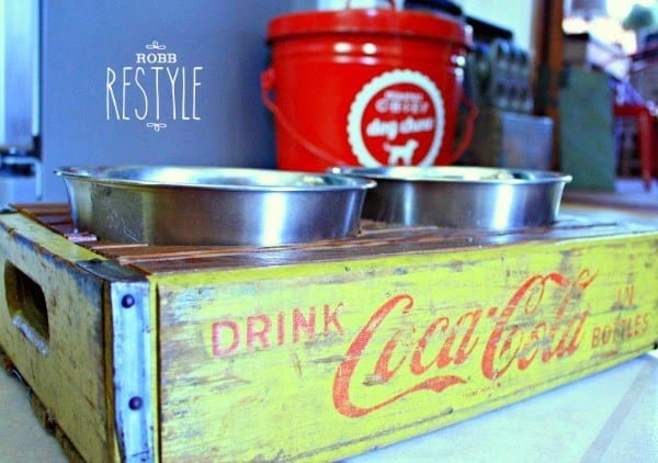 Vintage Soda Crate Repurpose