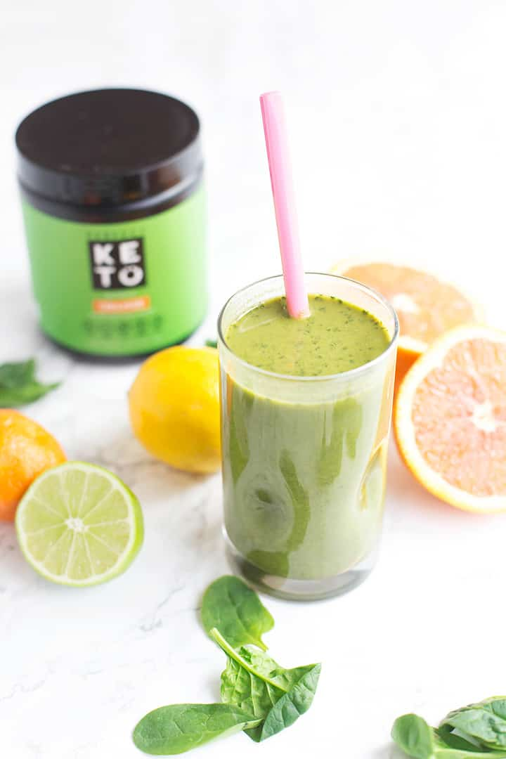 Citrus Keto Green Smoothie