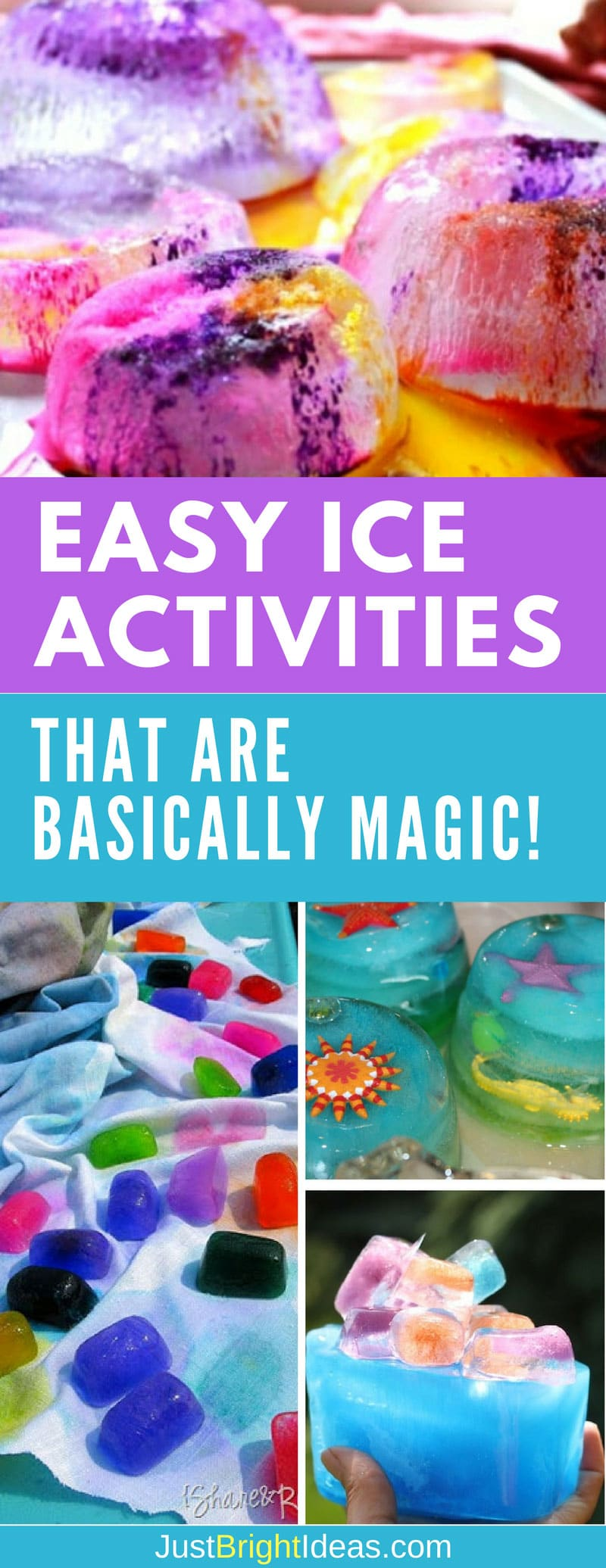 Ice activities for winter and summer