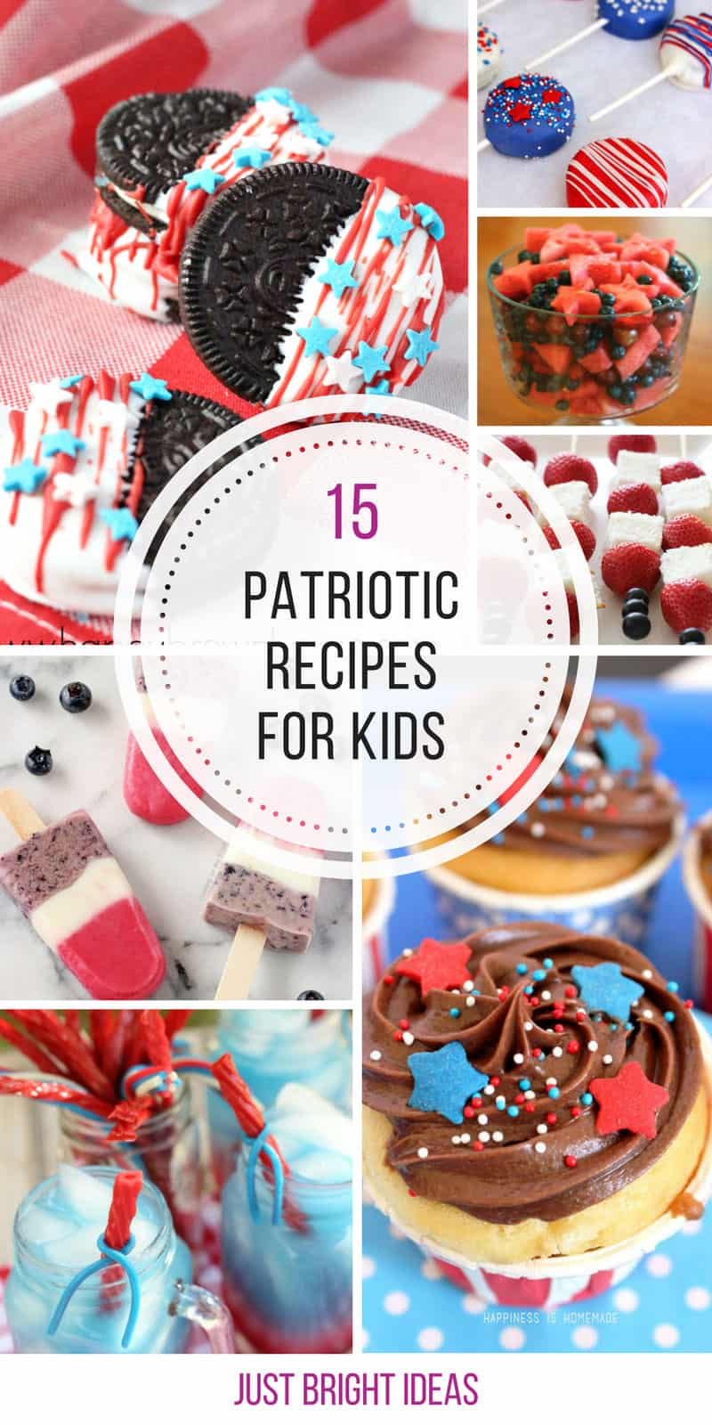 Loving these fun 4th of July recipes for kids! Thanks for sharing!