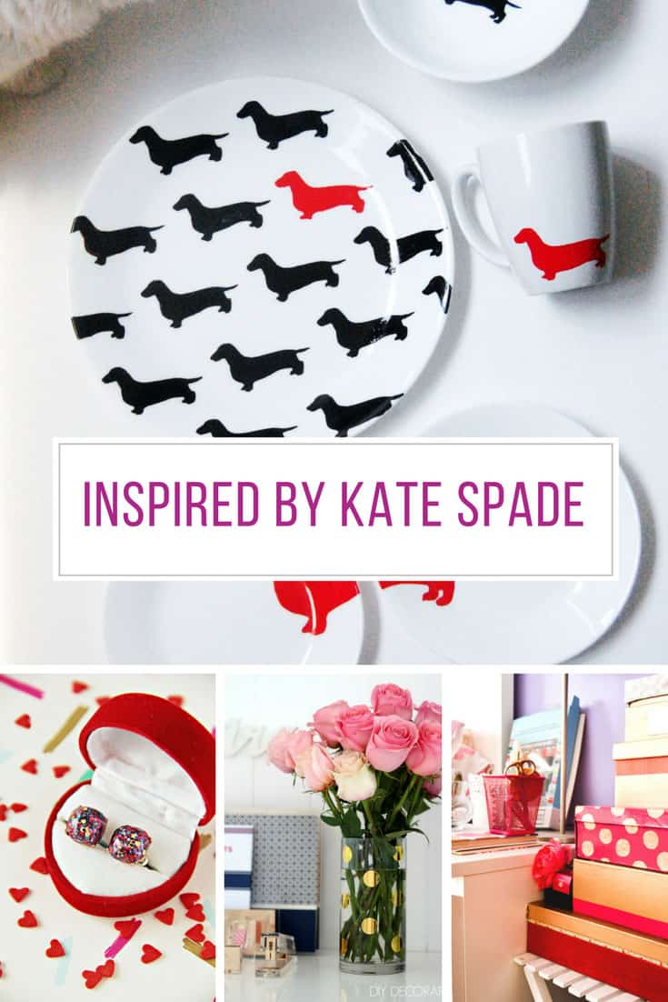Loving these DIY projects inspired by Kate Spade! Thanks for sharing!