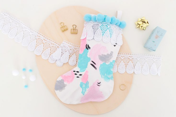 DIY Pastel Stocking