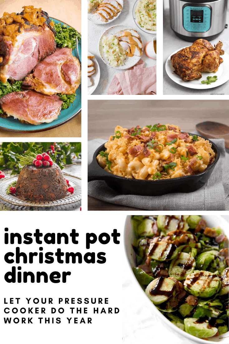 This year let your pressure cooker do all of the hard work thanks to these delicious instant pot christmas dinner recipes