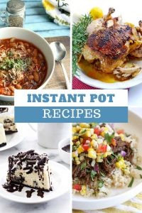 Loving these instant pot recipes - so easy and delicious!