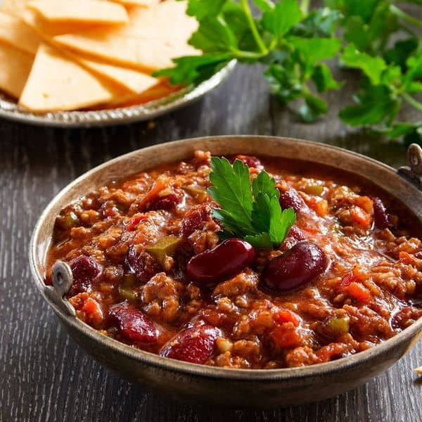 Instant Pot Vegan Three Bean Pumpkin Chili