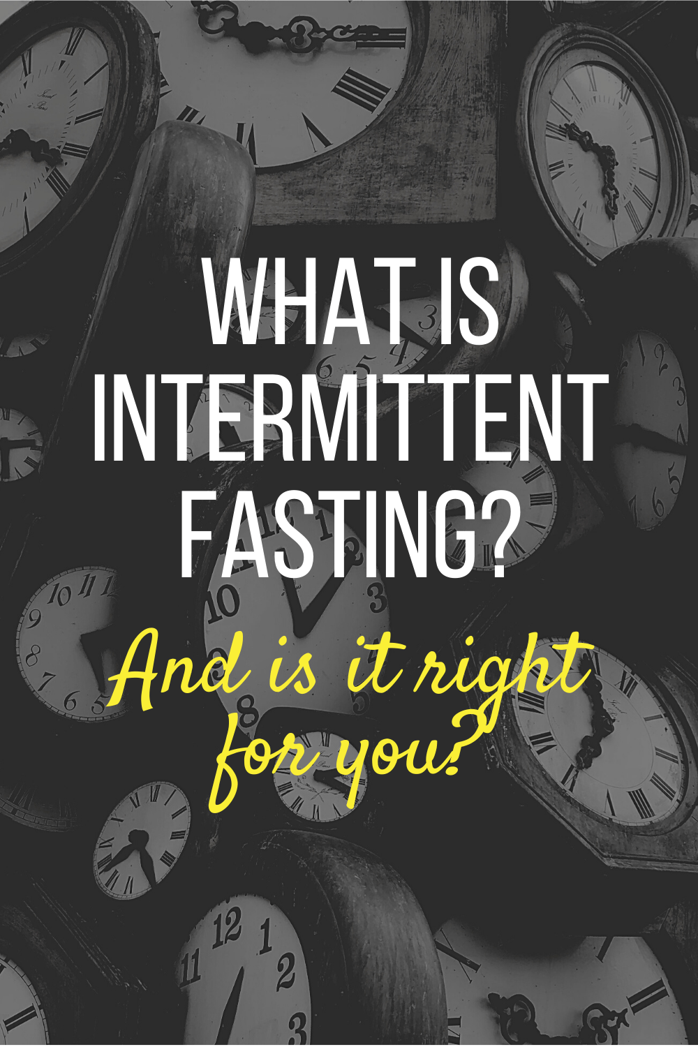 What on earth is Intermittent Fasting and should you try it? Check out our 101 guide. to find out.
