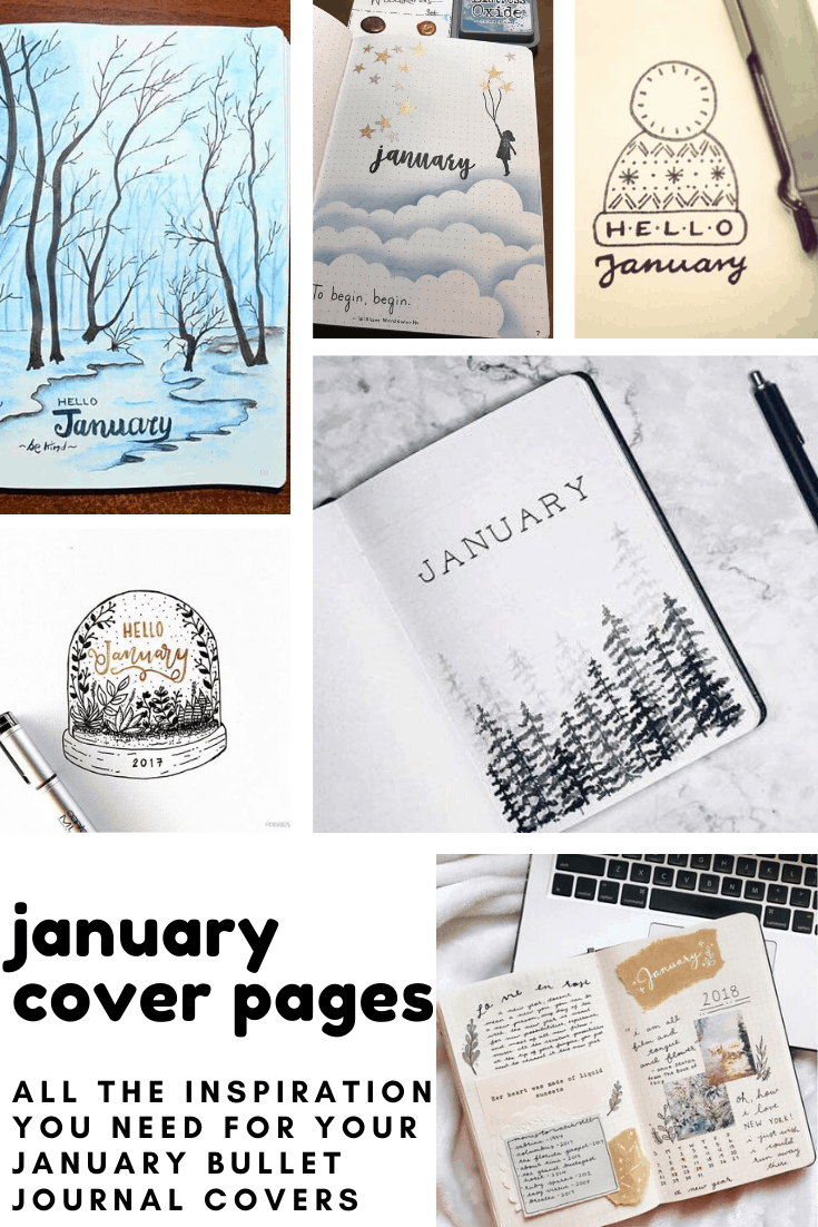 If you need some inspiration for your January cover pages we've got you covered!