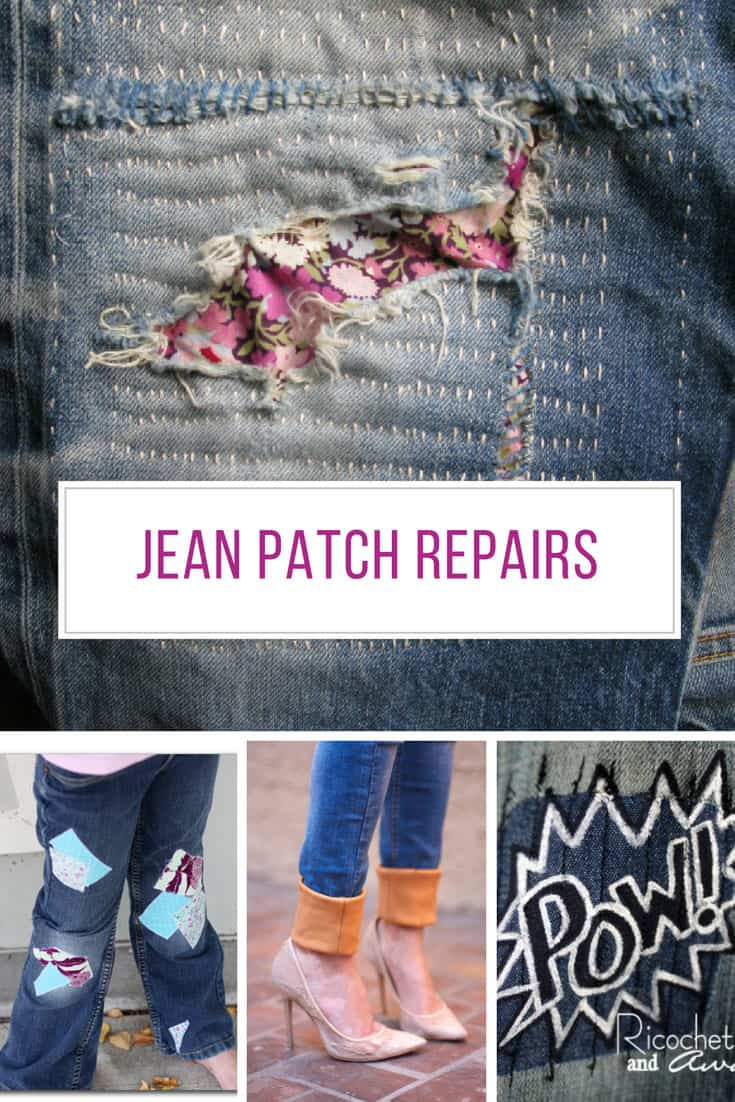 Who knew it was so easy to patch up ripped jeans! Thanks for sharing!