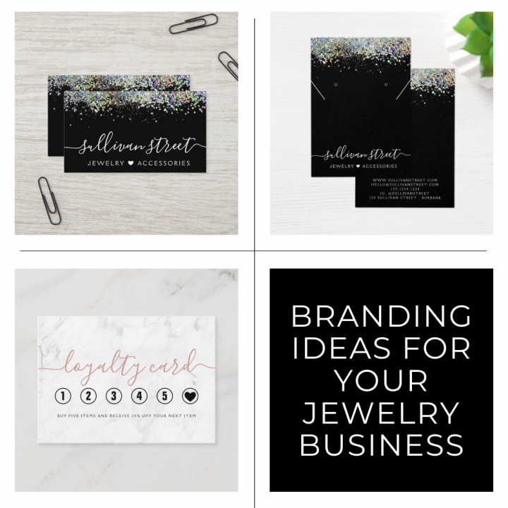 Jewelry Branding Ideas - Sullivan Street Small Business Branding Kits