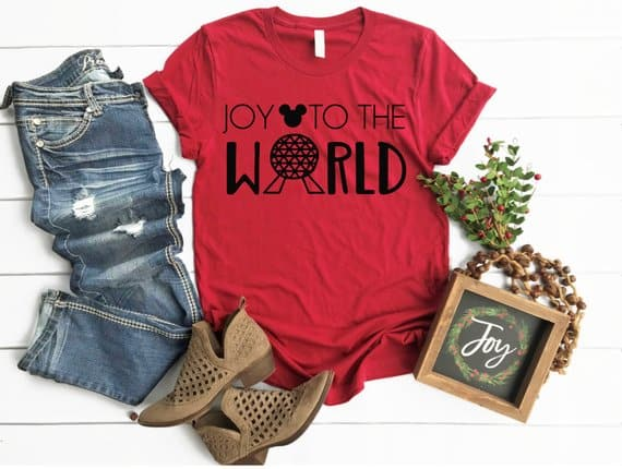 Joy to the World Spaceship Earth Shirt