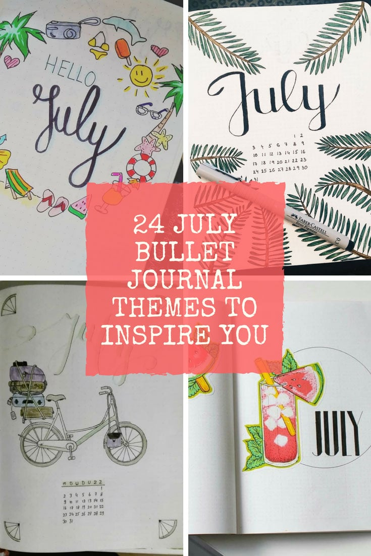 July Bullet Journal Themes to Inspire You