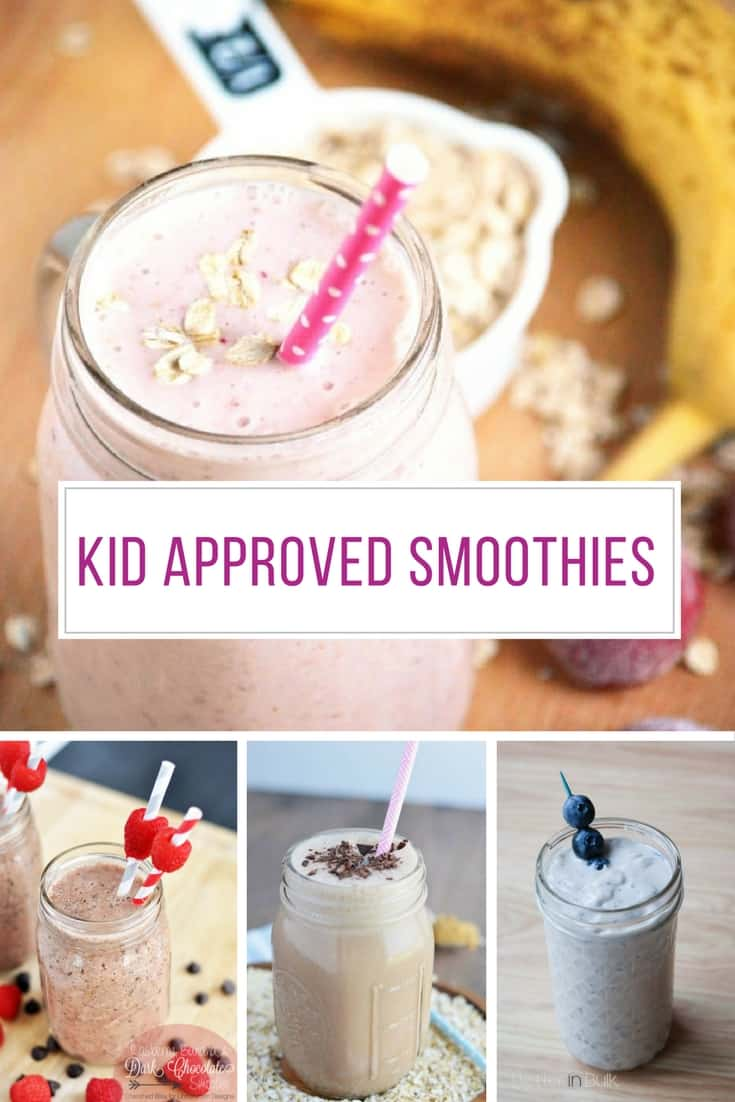 My kiddos LOVE smoothies so we're always on the hunt for new recipes! Thanks for sharing.