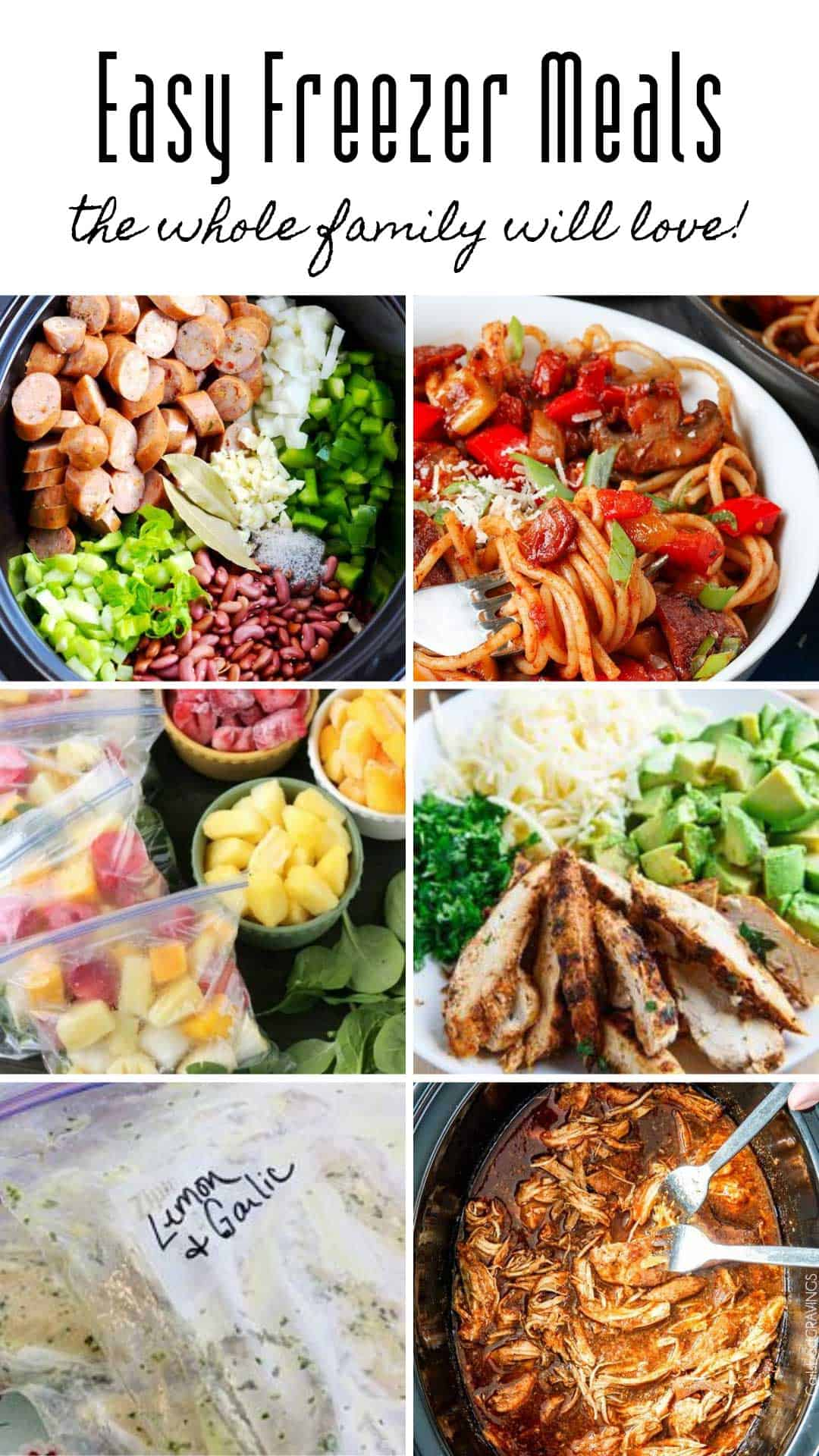 These kid friendly freezer meals are a must add to your meal plan rotation. Batch cooking saves so much time when your weeknights are busy!
